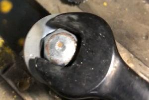 Broken bolt