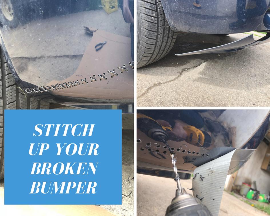 Repair your broken bumper