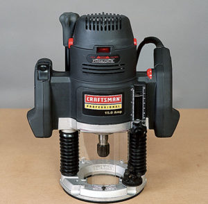 Craftsman plunge router - tools