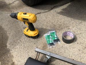 tools used to repair broken bumper